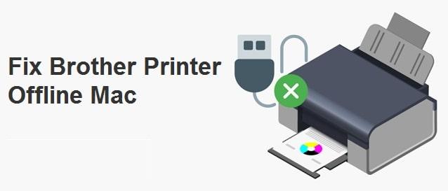 brother printer offline mac