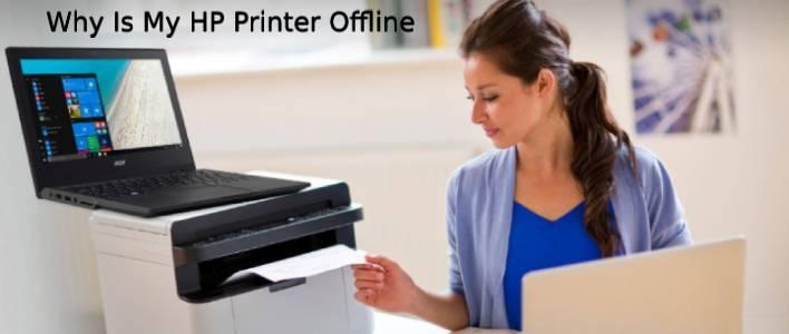 why is my printer offline hp