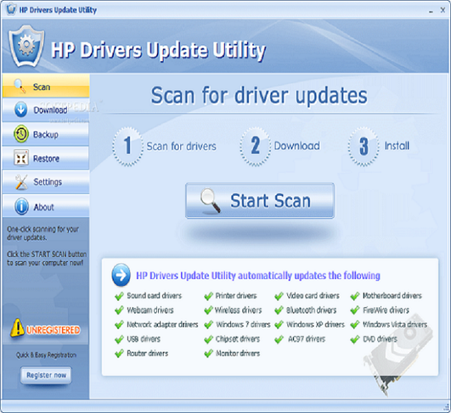 HP Update Software Utility