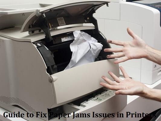 paper jam on printer
