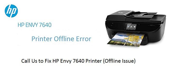 HP Envy 7640 Printer Problems