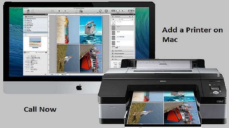 how to add printer on mac