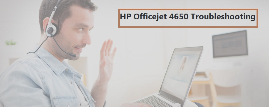 HP Officejet 4650 Troubleshooting