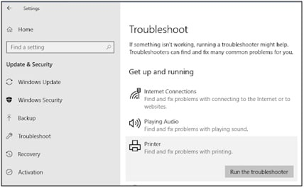 Troubleshoot - Printer Troubleshooting Guide