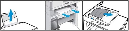 Paper jam in printers